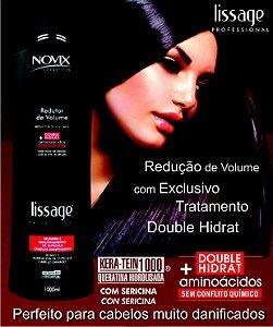 REDUTOR DE VOLUME NOVIX LISSAGE 1000ML - COM OLEO DE ARGAN