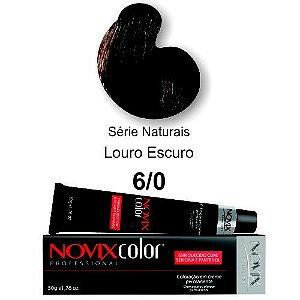 Coloração Profissional Novix Color 6/0 (caixa com 12 unidades)
