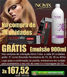 COMBO 24 UNIDADES COLORAÇÃO GRÁTIS OX 900ML
