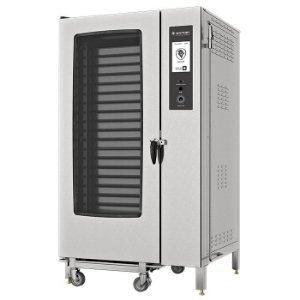 Forno Combinado Touch Screen Wictory 40 Gn's 1/1 -  WCTS-40 Gás com Cavalete