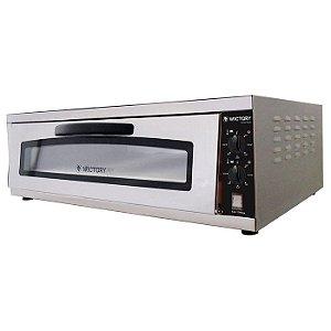 Forno De Pizza Wictory WP80 Elétrico com Pedra Refratária