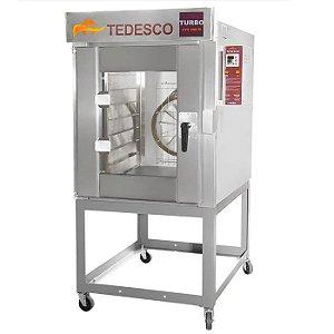 Forno Turbo 10 Esteiras FTT-300  Tedesco - A Gás com Cavalete