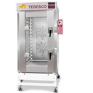 Forno Turbo 13 Esteiras FTT-390  Tedesco - A Gás com Cavalete