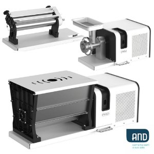 Maquina para Macarrão Anodilar Kit Supermix Pro, 5 Funções, Peças Inteligentes, Bivolt - Com Misturadeira