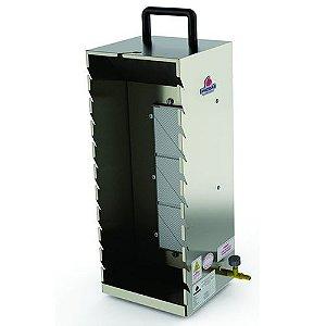 Churrasqueira para Espetinhos a Gás 10 Espetos Progas PR-199 Portátil