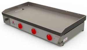 Chapa Bifeteira PR-1000G Progás Gás Industrial 3 Queimadores