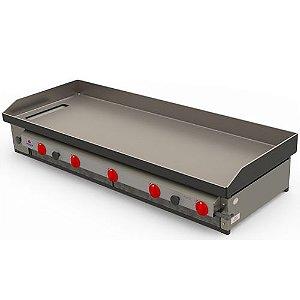 Chapa Bifeteira PR-1600 Progás Gás Industrial 5 Queimadores
