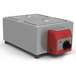 Derretedeira 2 Cubas Inox Elétrica PRD-200E - Progás