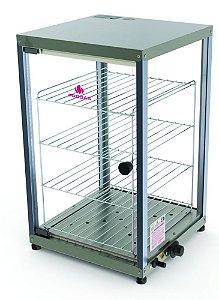 Estufas para Salgados Verticais 4 Andares Vitrine PR-640E Progás