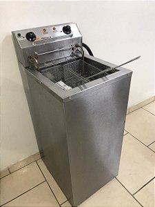 Fritadeira Elétrica Água E Óleo Dois Cestos Fao-3000 Potência 8500w - 220V Seminovo