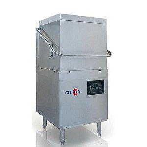 Lavadora De Louças De Capô Industrial Modelo H2 380v Completa com 6 Rack + Dosador para secante e detergente