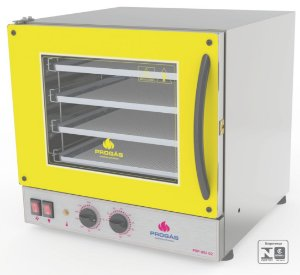 Forno Turbo Elétrico Fast Oven PRP-004 G2 Amarelo