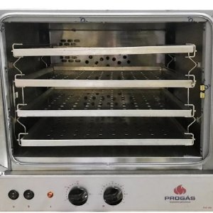 Forno Turbo Elétrico Fast Oven 4 assadeiras PRP-004- Preto