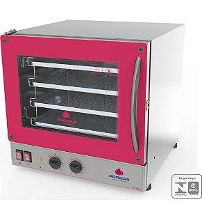 Forno Turbo Elétrico Fast Oven PRP-004 G2 Vermelho