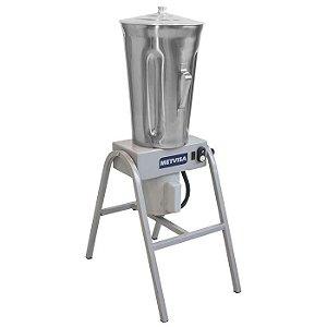 Liquidificador Industrial Metvisa 19 Litros Baixa Rotação Copo de Inox