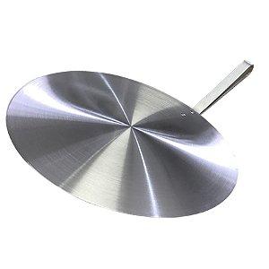 Pá de Pizza 35 Cm Redonda com Cabo Curto PA-10