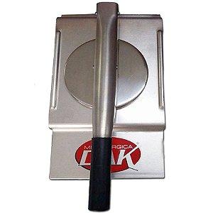 Modelador De Hamburguers 12,3 cm Alumínio Dak Para 115g