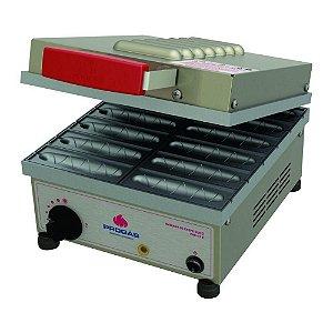 Máquina de Crepe Crepeira Elétrica Progás 12 Cavidades PRK-12 E 220V