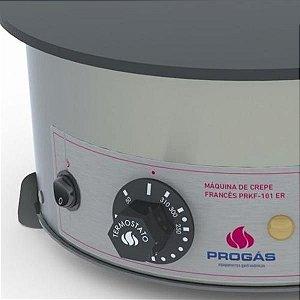 Chapa para Crepe Frances Esmaltada PRKF-101 220V Progás