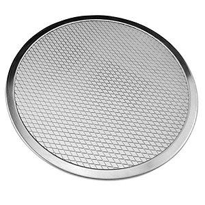 Tela para pizza 40 cm Alumínio Redonda TE-06