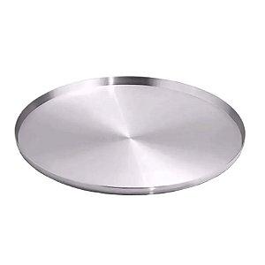 Forma para pizza 35 cm FO-119 Alumínio 1,5 mm Wallpan