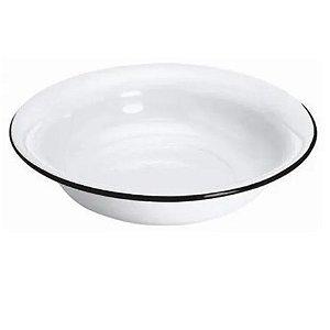 Bacia Esmaltada N32 3,3l Branca Metalouça