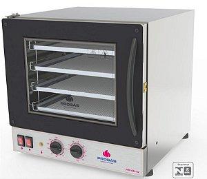 Forno Turbo Elétrico Fast Oven 4 assadeiras PRP-004- Vermelho