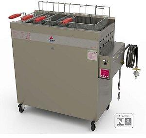 Fritadeira Industrial a Gás PR-3000-BPAT 30 L - de Show Room