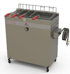Fritadeira Industrial A Gás Baixa Pressão PR-3000 BPG Progás