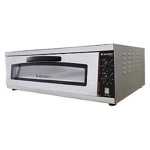 Forno De Pizza 80cm pedra refratária - 2 resistências -WP-80