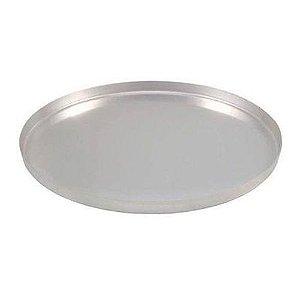 Forma de pizza 30 cm em alumínio - assadeira com borda alta