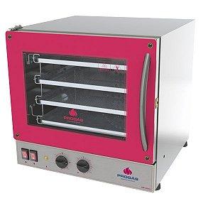Forno Multiuso Progás Turbo Fast Oven 4 esteiras Vermelho - PRP-004 G2 Elétrico - 220V SemiNovo