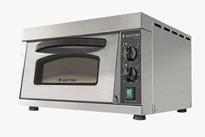 Forno Pizza Ultra Rápido Elétrico 2 Resistências com pedra refratária - 220V – WP-35 - Wictory
