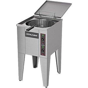 Fritadeira Elétrica Água E Óleo 220V FAO 1CR Metalcubas