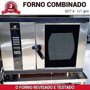 Forno Combinado a Gás Seminovo 1/1 GCT-04 - LTedesco