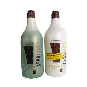 Afroliss Escova progressiva sem formol, altamente eficiente para todos os tipos de cabelos.