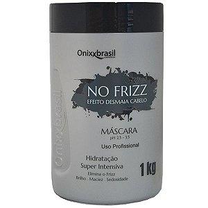 Máscara No Frizz -1 kg   com efeito Desmaia Cabelo ultra hidratante de ação imediata.
