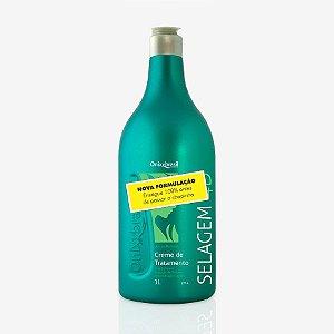 Selagem 4D, reduz volume, matirizante , hidrata e cauteriza fios. Recomendado para todos os tipos de cabelos, inclusive afros  ótimo redutor de volume