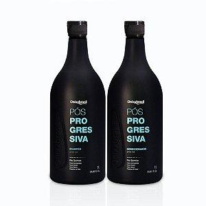 PROMOÇÃO - Pós Progressiva, shampoo e condicionador de 1 litro, uso diário para sua casa ou salão, todos tipos de cabelos, limpeza e hidratação