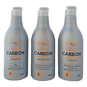 Kit Cauter Carbon - 3 Unidades