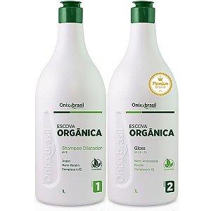 Escova Orgânica Blond - progressiva - alto poder de alisamento - Onixx Brasil