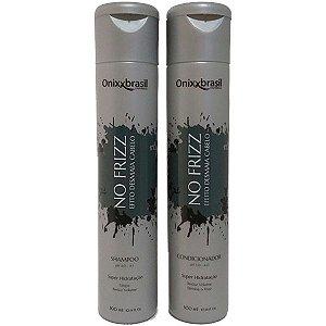 No frizz 300ml - Shampoo + Condicionador - reduz volume e alinha os fios