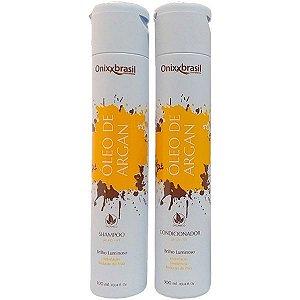 Óleo de Argan - Shampoo + Condicionador - brilho e hidratação profunda