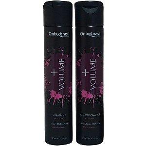Kit Mais Volume - Shampoo + Condicionador - Promove mais volume, hidratação e nutrição