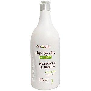 Shampoo Day by day Mandioca e biotina 1l