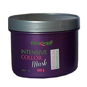LANÇAMENTO - Intensive Collor Mask Platinium 500g - platina cabelos loiros