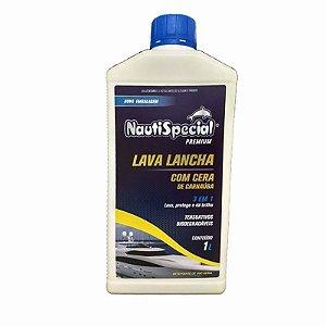 Lava Lancha Com Cera De Carnaúba Nautispecial 1 Litro