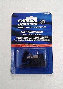 Kit com 2 Conector De Combustível 5/16- Original Evinrude Johnson