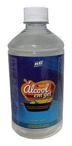 Álcool Em Gel 70° Inpm Higienizador Mãos Antisséptico 500ml