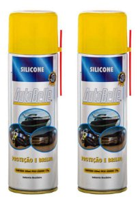 Silicone Spray 300ml Auto Belle - Kit Com 2 Unidades